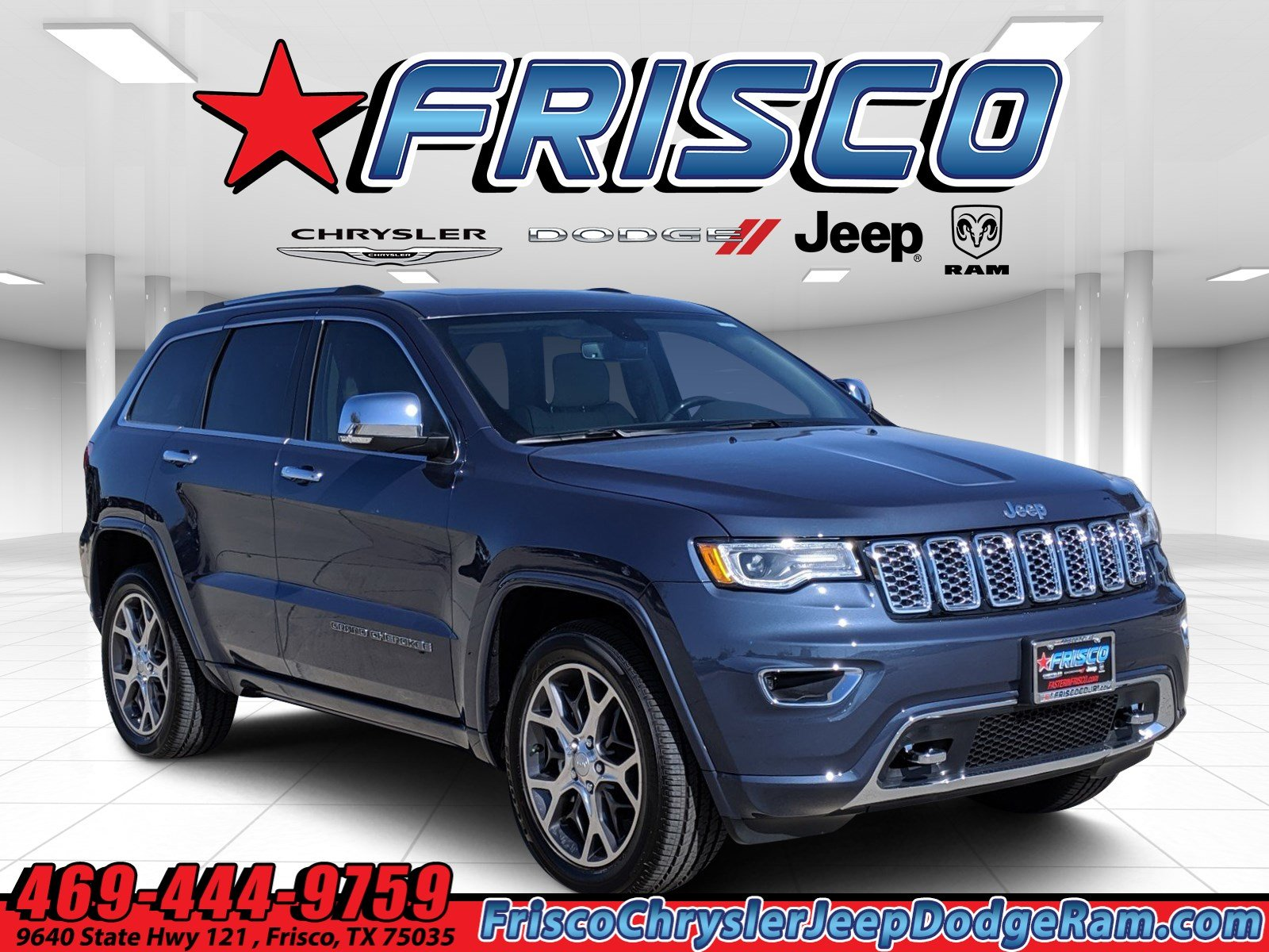 Jeep Grand Cherokee Overland >> New 2020 Jeep Grand Cherokee Overland 4x2
