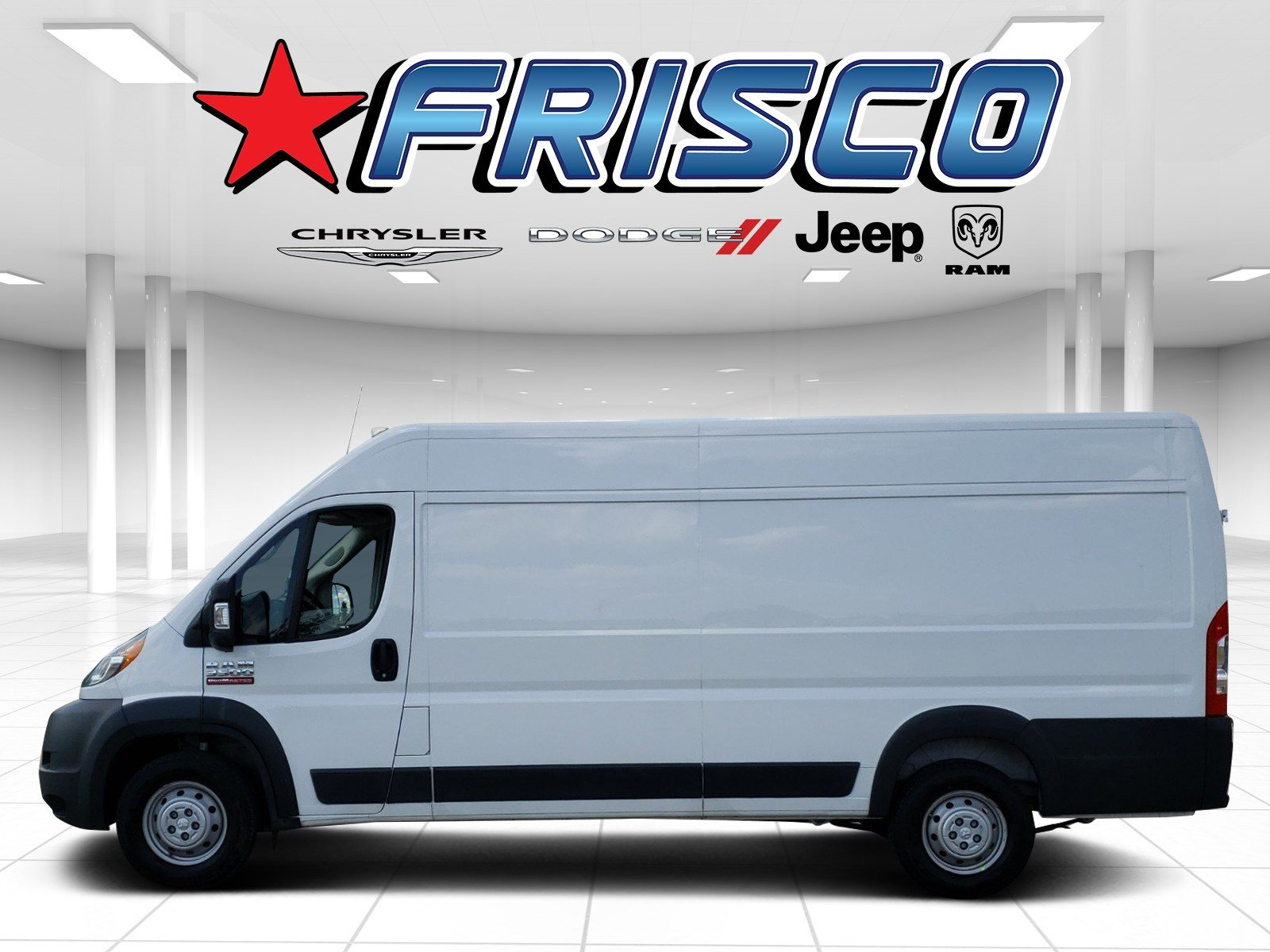 Pre-Owned 2018 Ram ProMaster Cargo Van High Roof