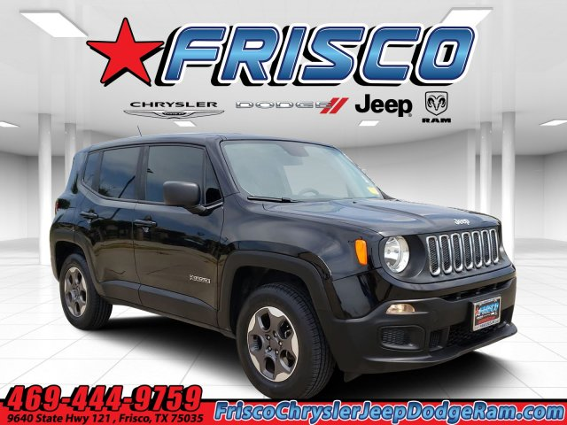 Certified Pre-Owned 2016 Jeep Renegade Sport